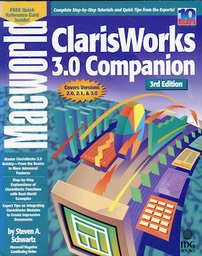 Macworld ClarisWorks 3.0 Companion, 3rd Edition